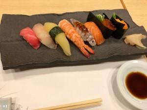 新年会寿司